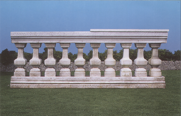 New garden s a s art 141 balaustra quadrata for Copri ringhiera