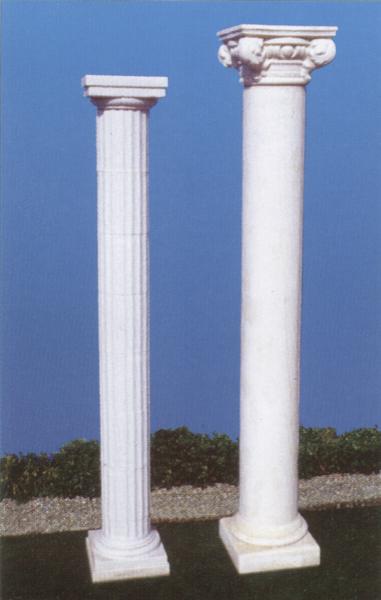 Colonne e capitelli in polistirolo for Come costruire colonne in stile artigiano